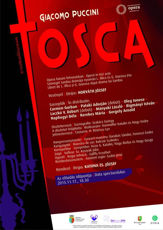 Tosca - plakát