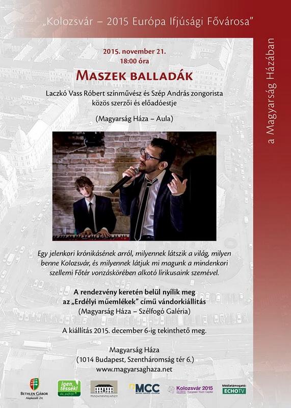 Maszek balladák Budapesten - 2015
